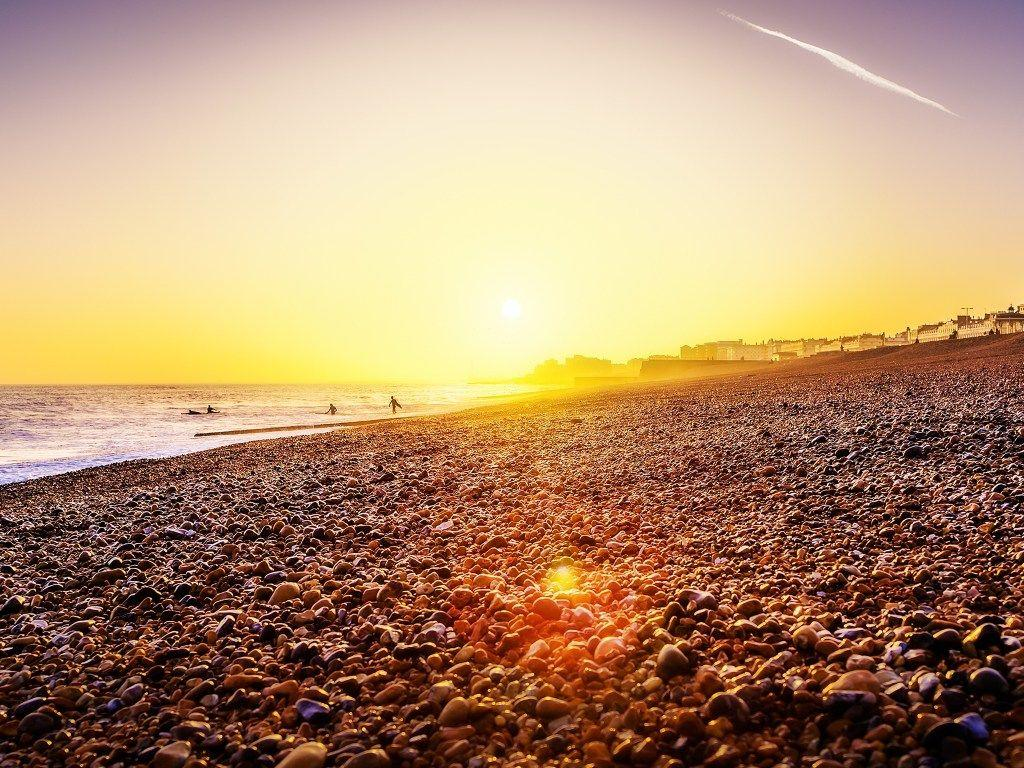 Brighton Beach Sunset Ipad 4 Wallpapers HD Pic wallpapers at GetHDPic
