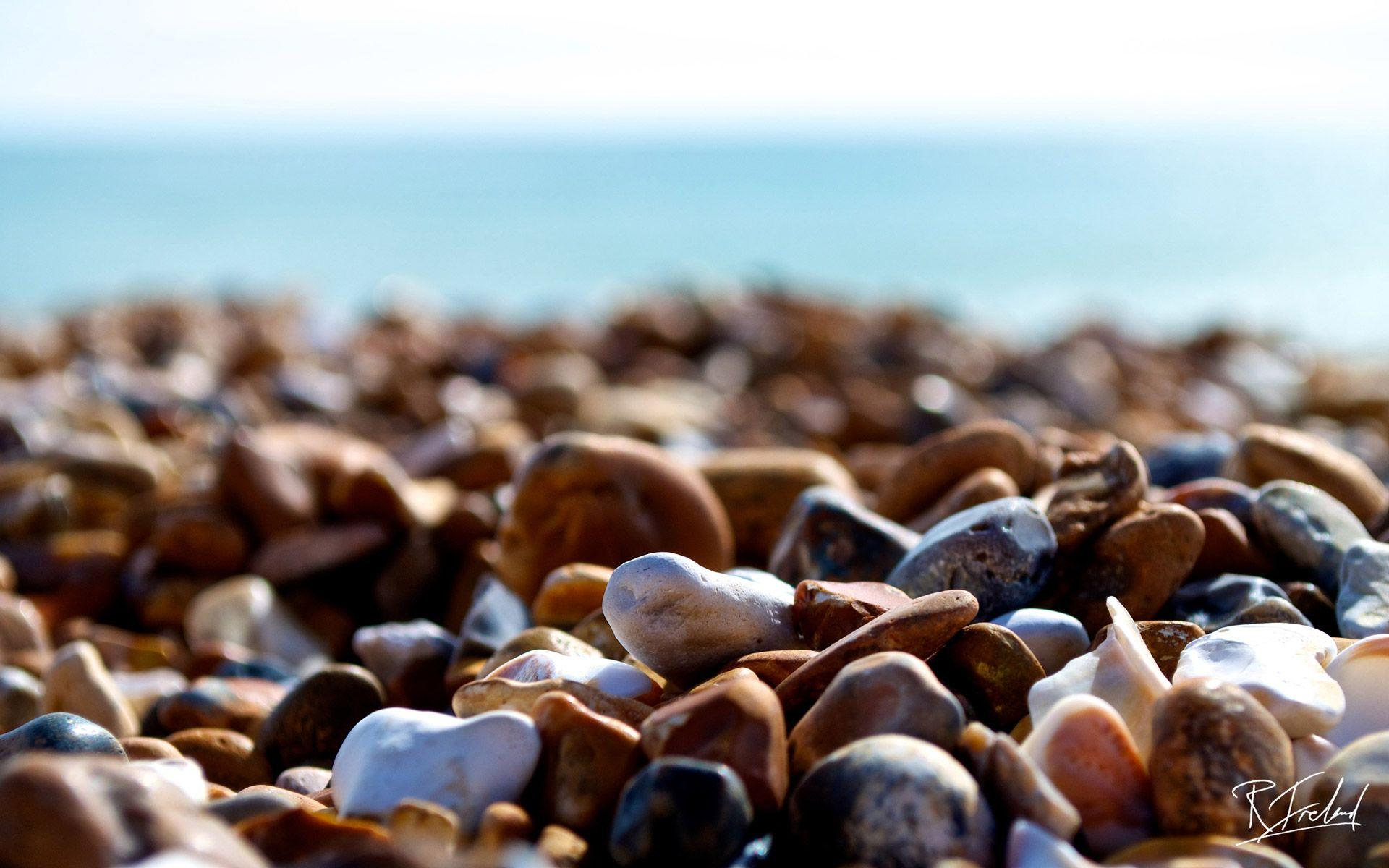 Brighton Beach Stones Hd Widescreen Wallpapers 1920x1200 HD Pic