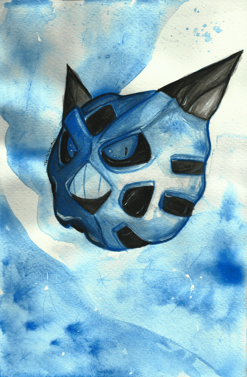 Glalie! Why so blue? by The-Spikey-Mouth on DeviantArt