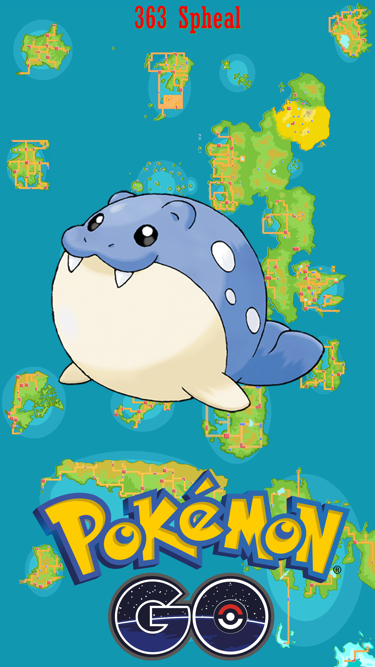 363 Street Map Spheal