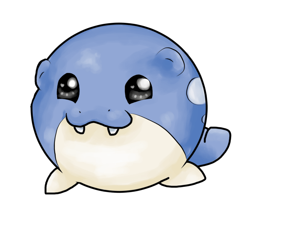 Spheal pagedoll || Commission by Rainbow-Draws on DeviantArt
