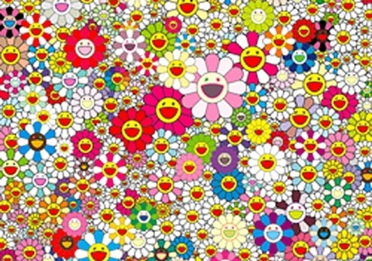 Permalink to Murakami Flower Laptop Wallpaper