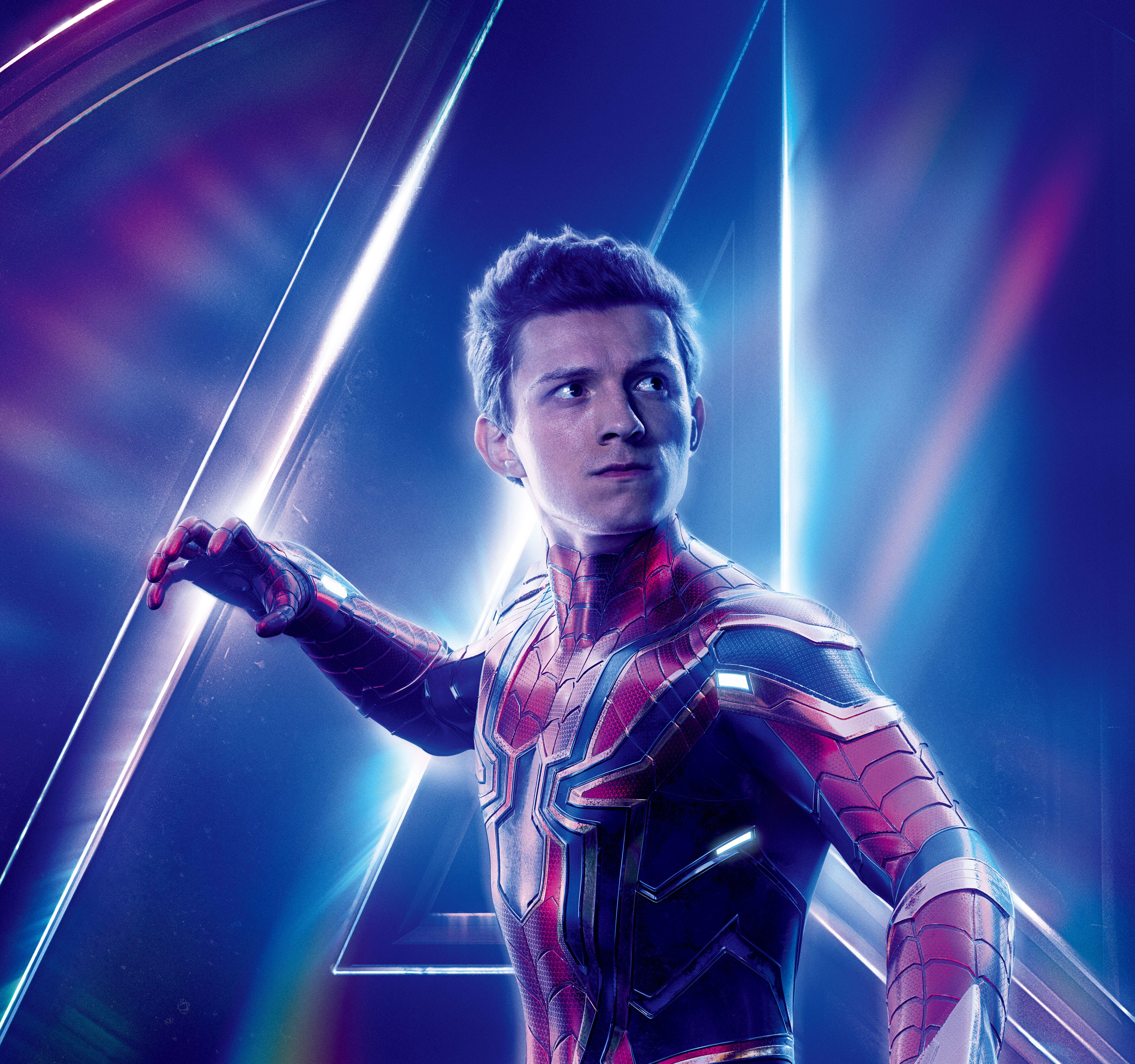 Wallpapers Avengers: Infinity War, Tom Holland, Peter Parker, Spider