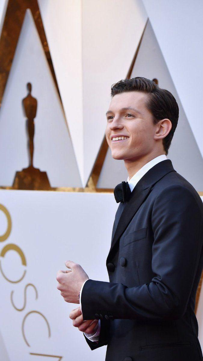 Tom Holland attends the 90th Annual Academy Awards at the Dolby