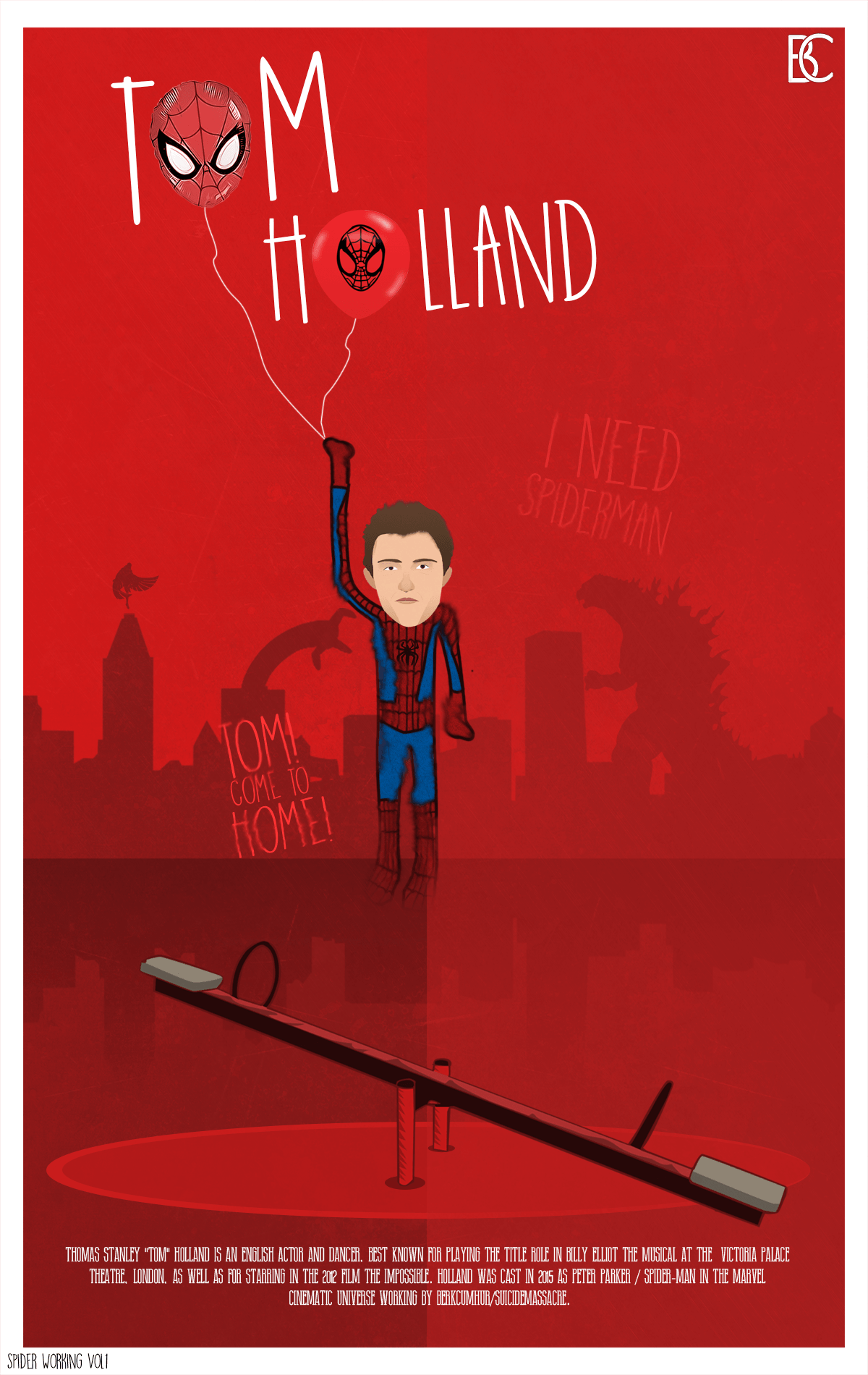 TOM HOLLAND by suicidemassacre16