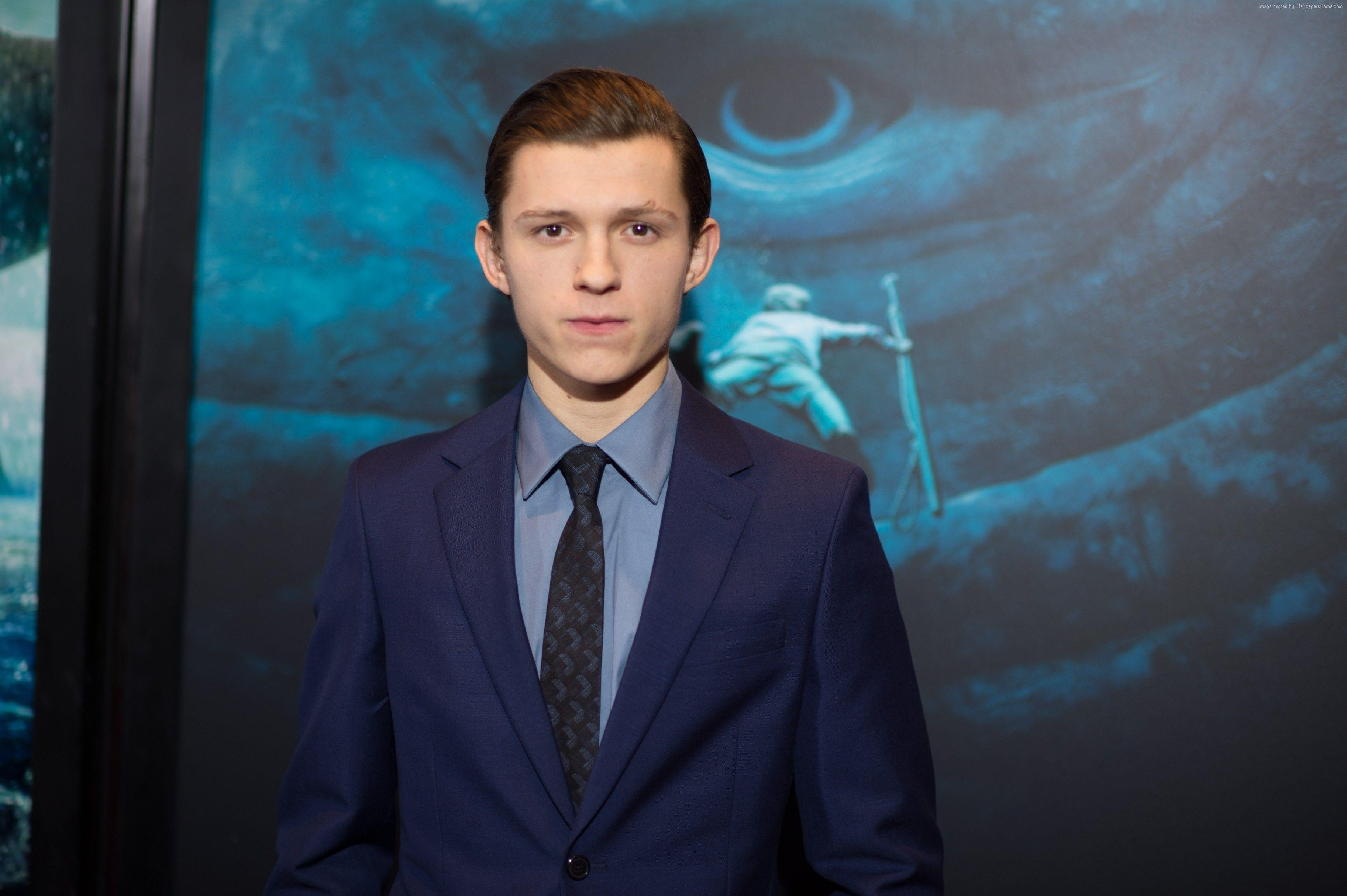 Wallpapers Tom Holland, 4k, photo, Celebrities