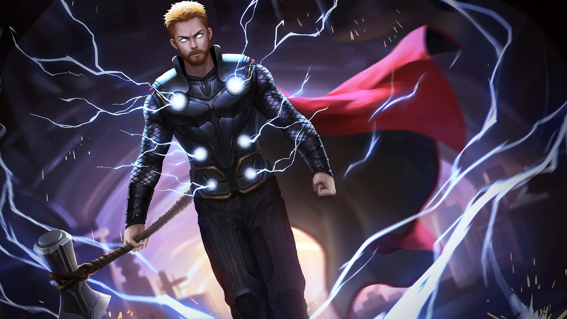 Thor Stormbreaker Wallpapers Wallpaper Cave