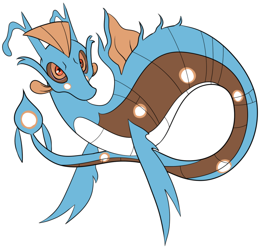 Scirpus the kingdra dragalge huntail by Featherkissed