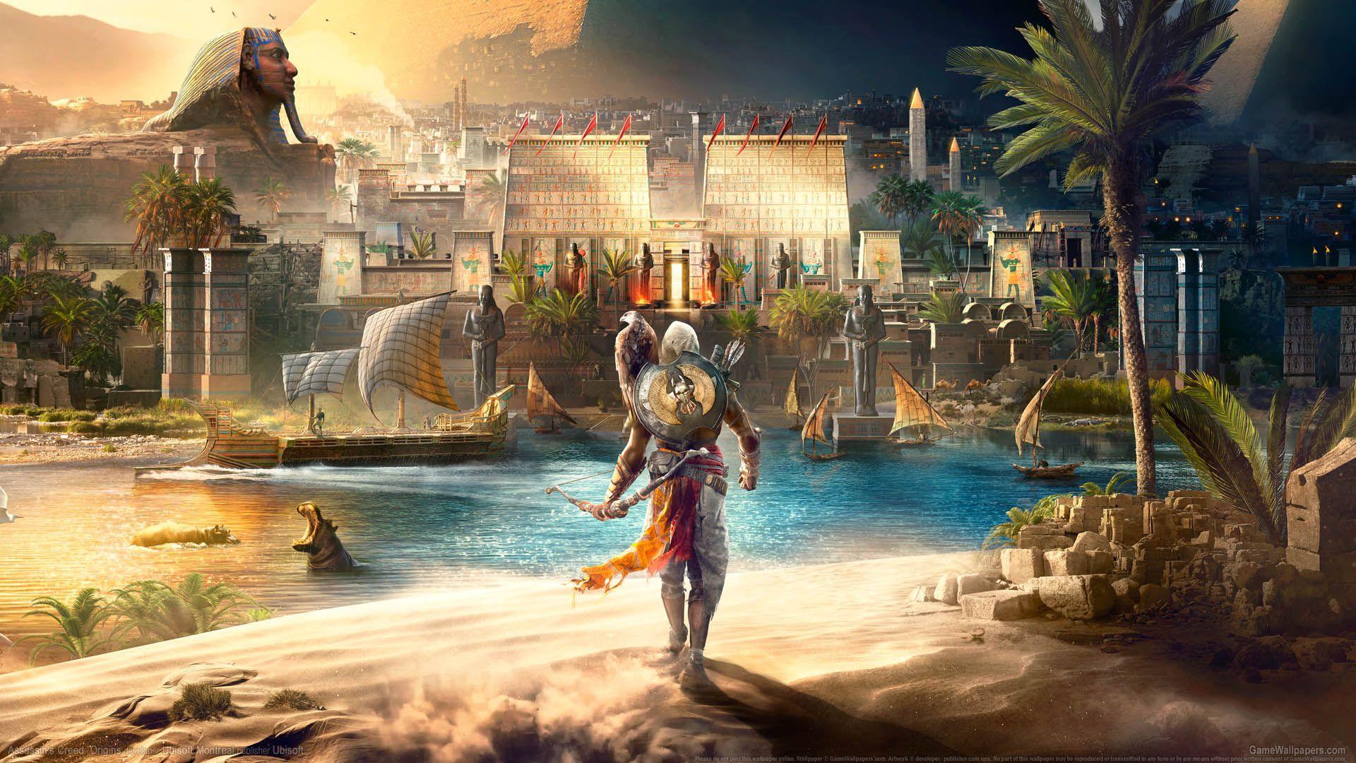 Assassin S Creed Origins Hd Wallpapers Wallpaper Cave