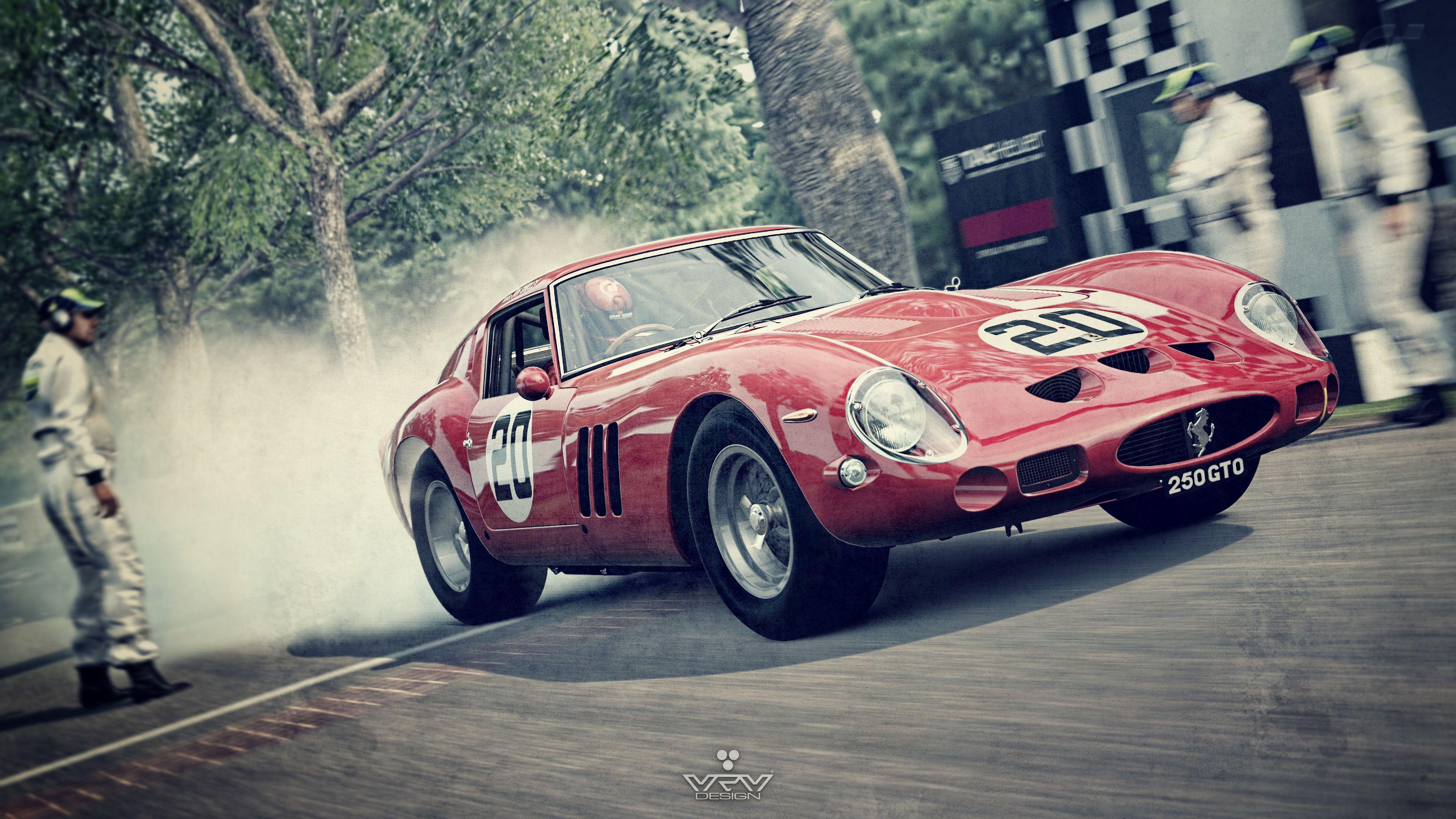 Ferrari 250 Gto Wallpapers Wallpaper Cave