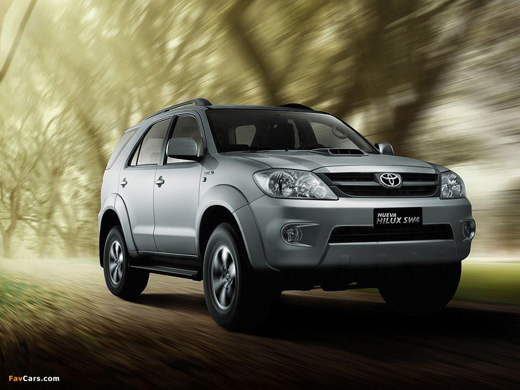 Toyota Hilux SW4 2006–09 wallpapers (1024x768)