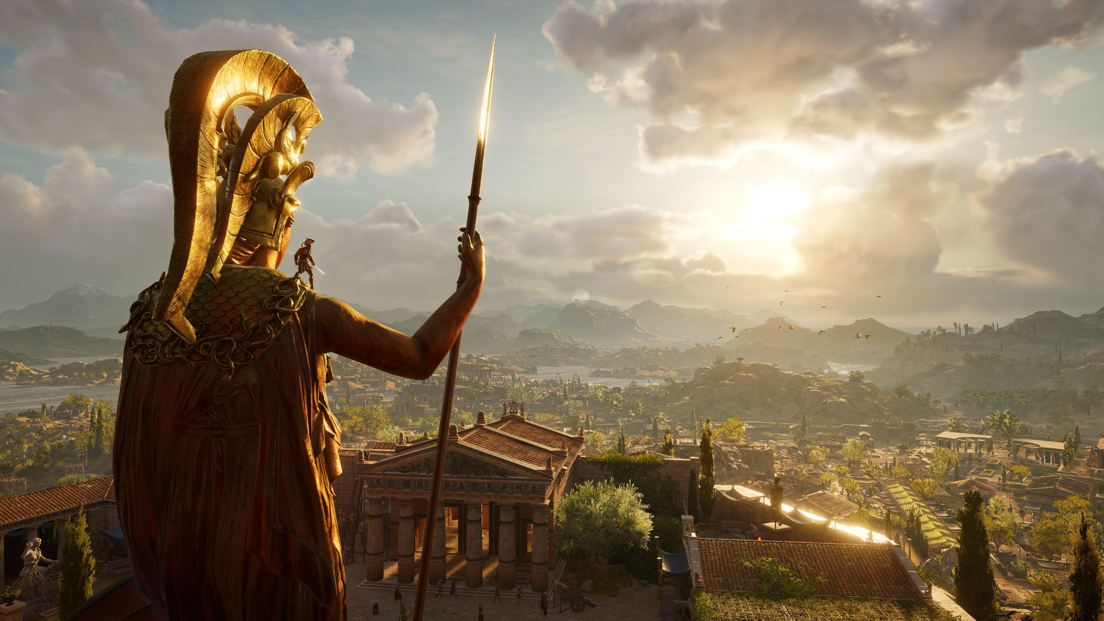 Assassin S Creed Odyssey Wallpapers Wallpaper Cave