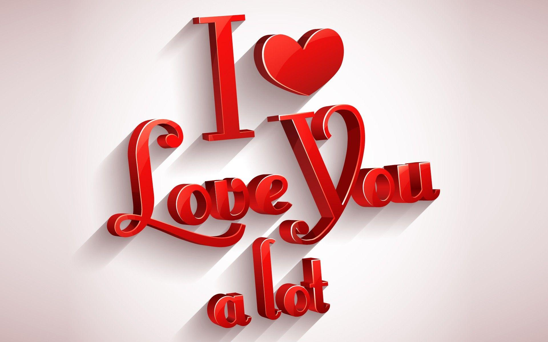 I Love You Hd Wallpapers Free Download - Wallpaper Rocket