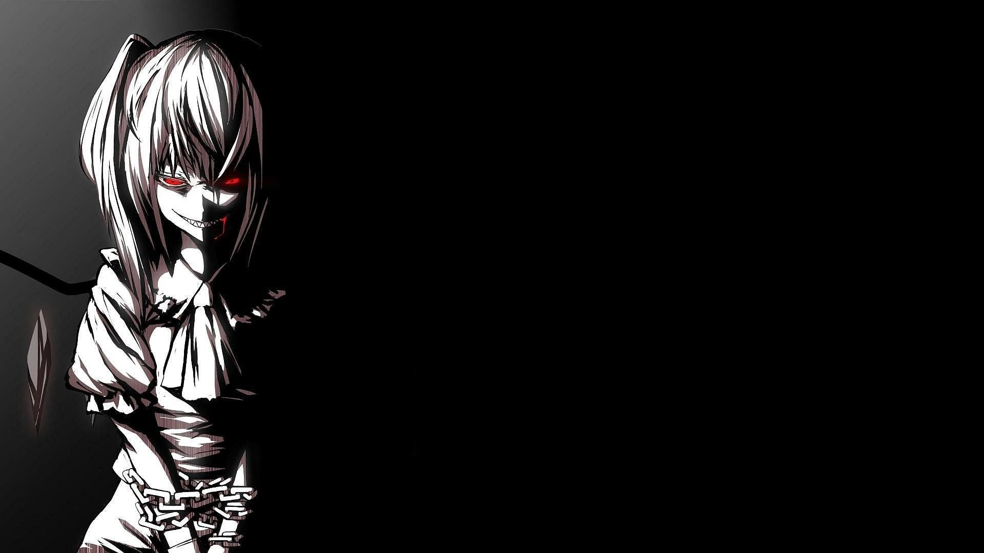 Black And White Anime Wallpapers Wallpaper Cave