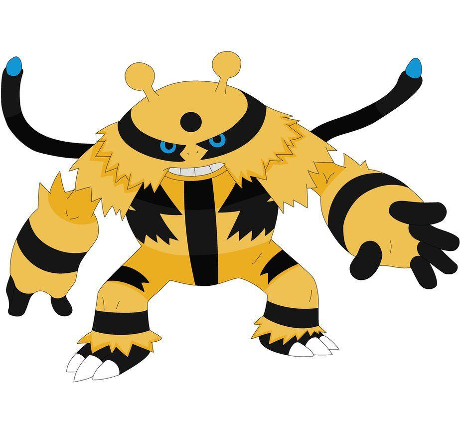 Rough the Shiny Electivire by kasanelover