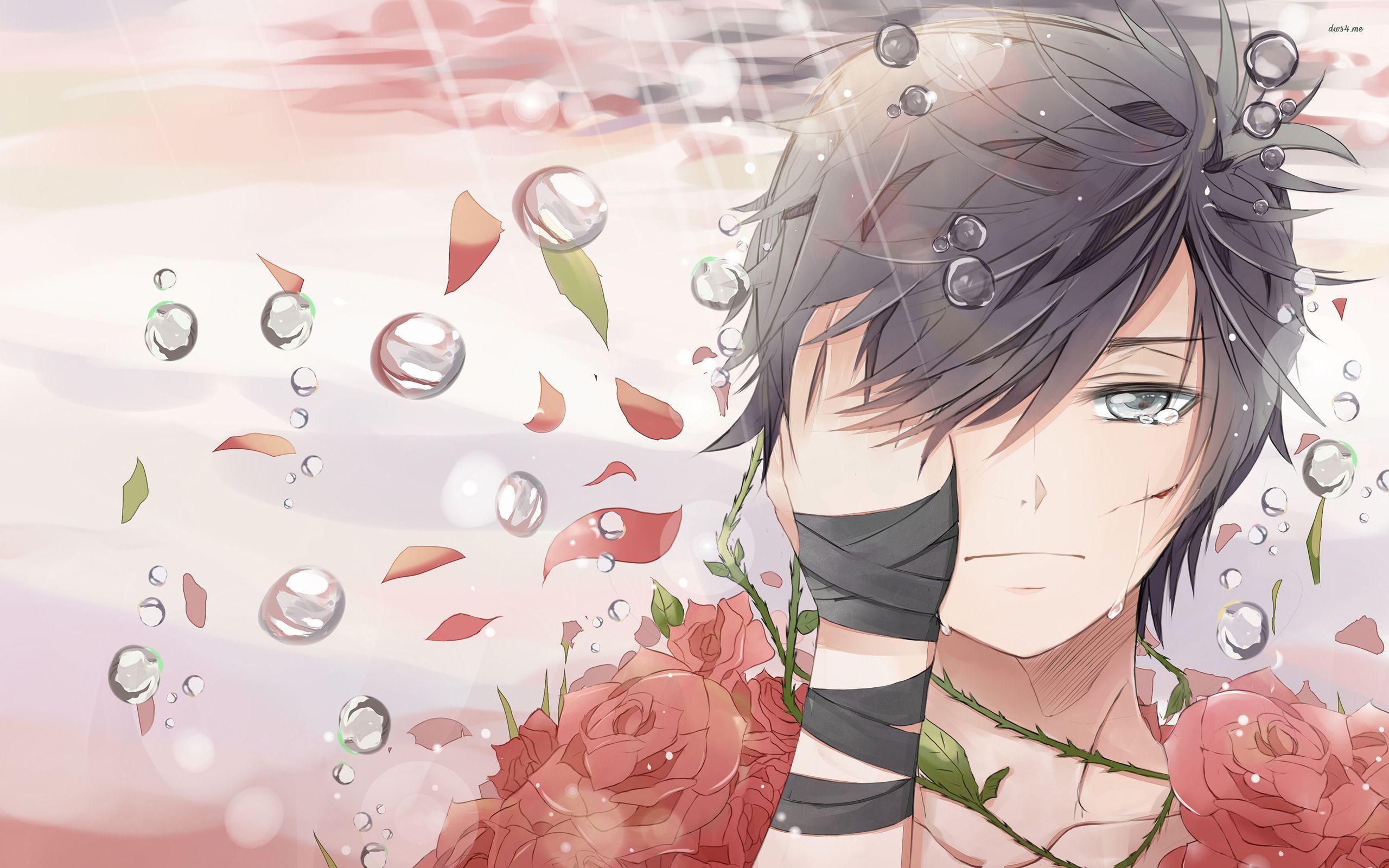 Sad Boy Anime Wallpapers Wallpaper Cave