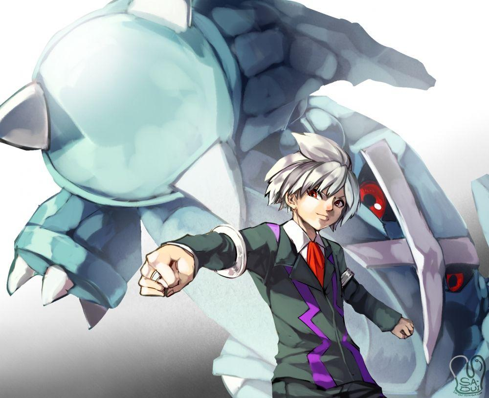Wallpapers Pokemon, Metagross, Steven Stone