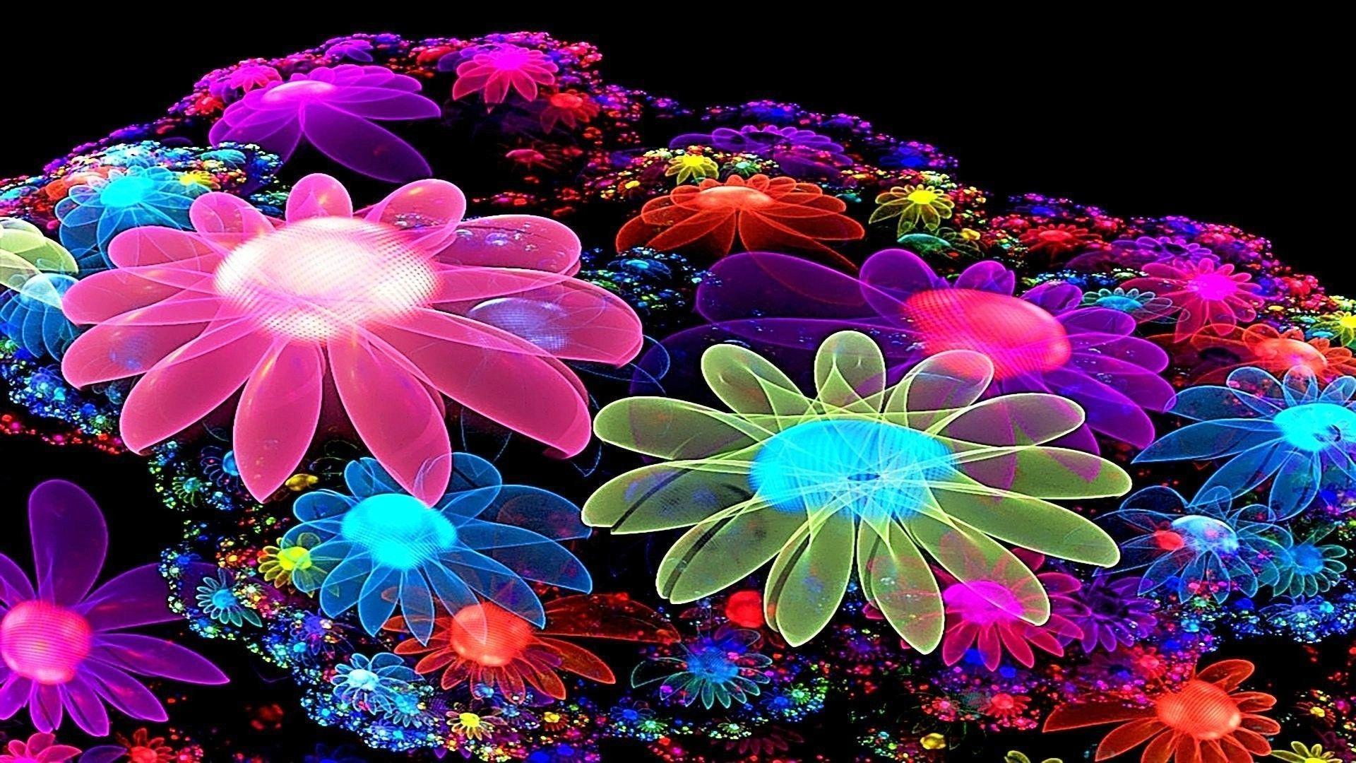 3d Flower Wallpapers Wallpaper Cave