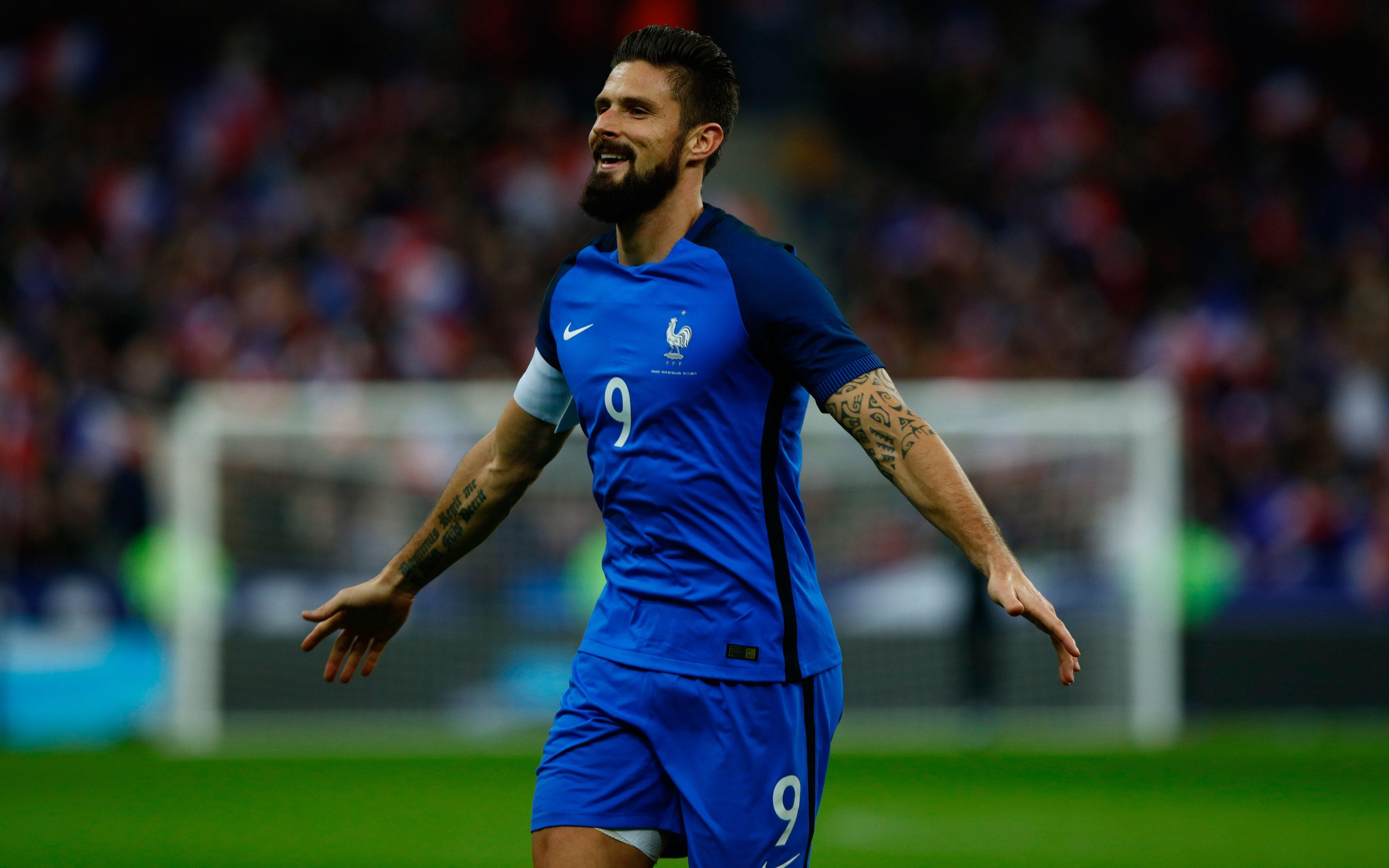 Olivier Giroud France Wallpapers - Wallpaper Cave