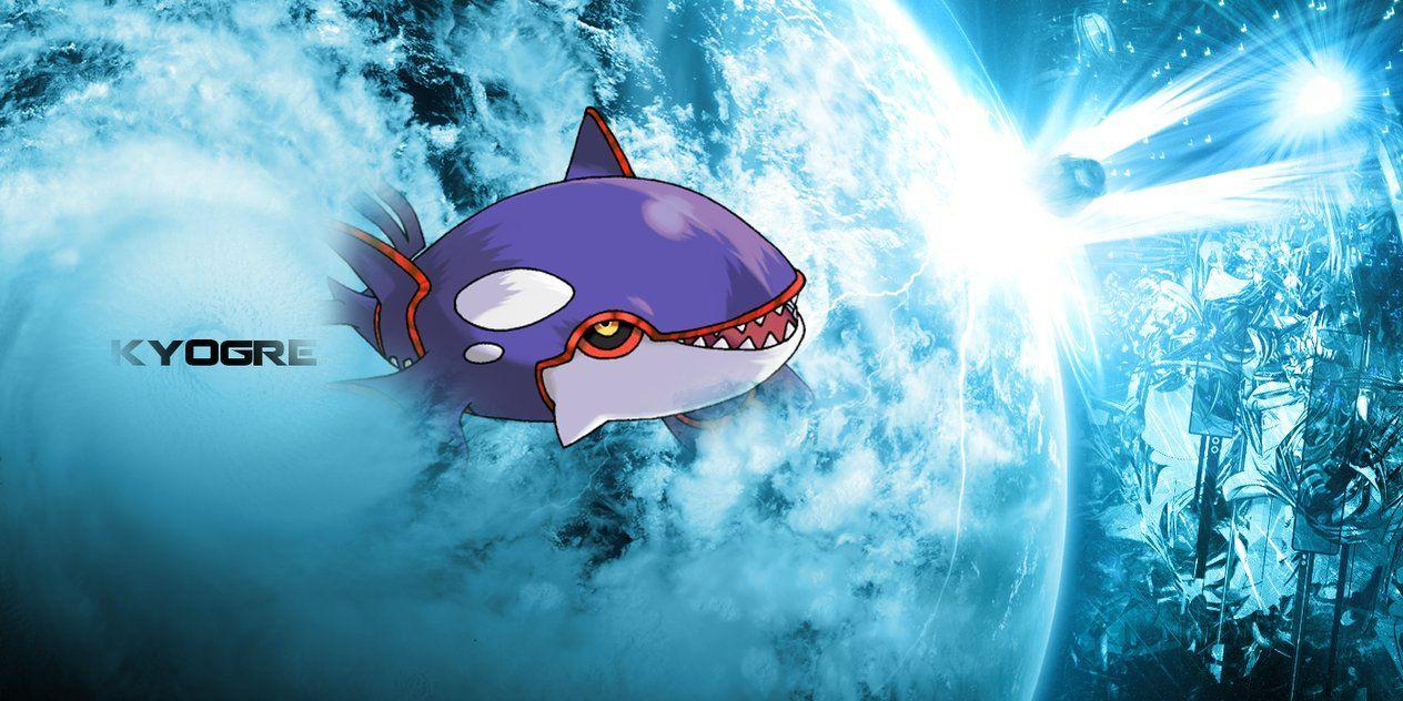 HD Kyogre Desktop Background by PokeCineplex on DeviantArt