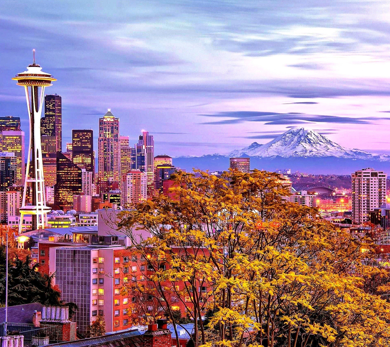 Mount Hd Wallpaper: Mount Rainier Seattle Wallpapers