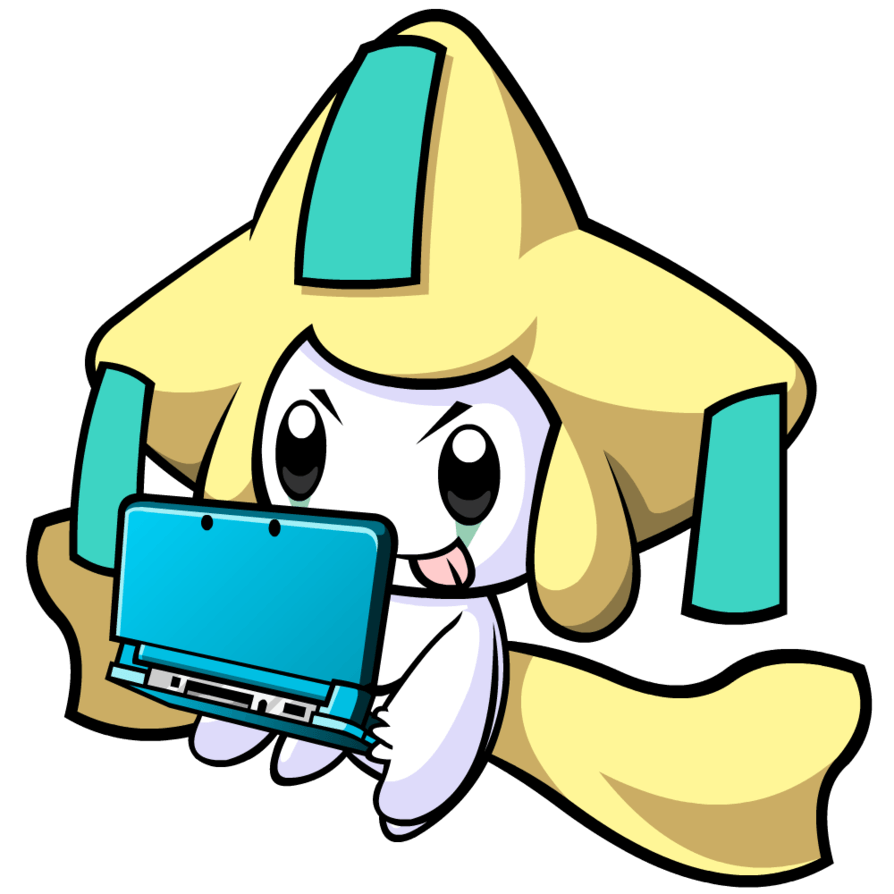 Jirachi on a 3DS by Cowctus