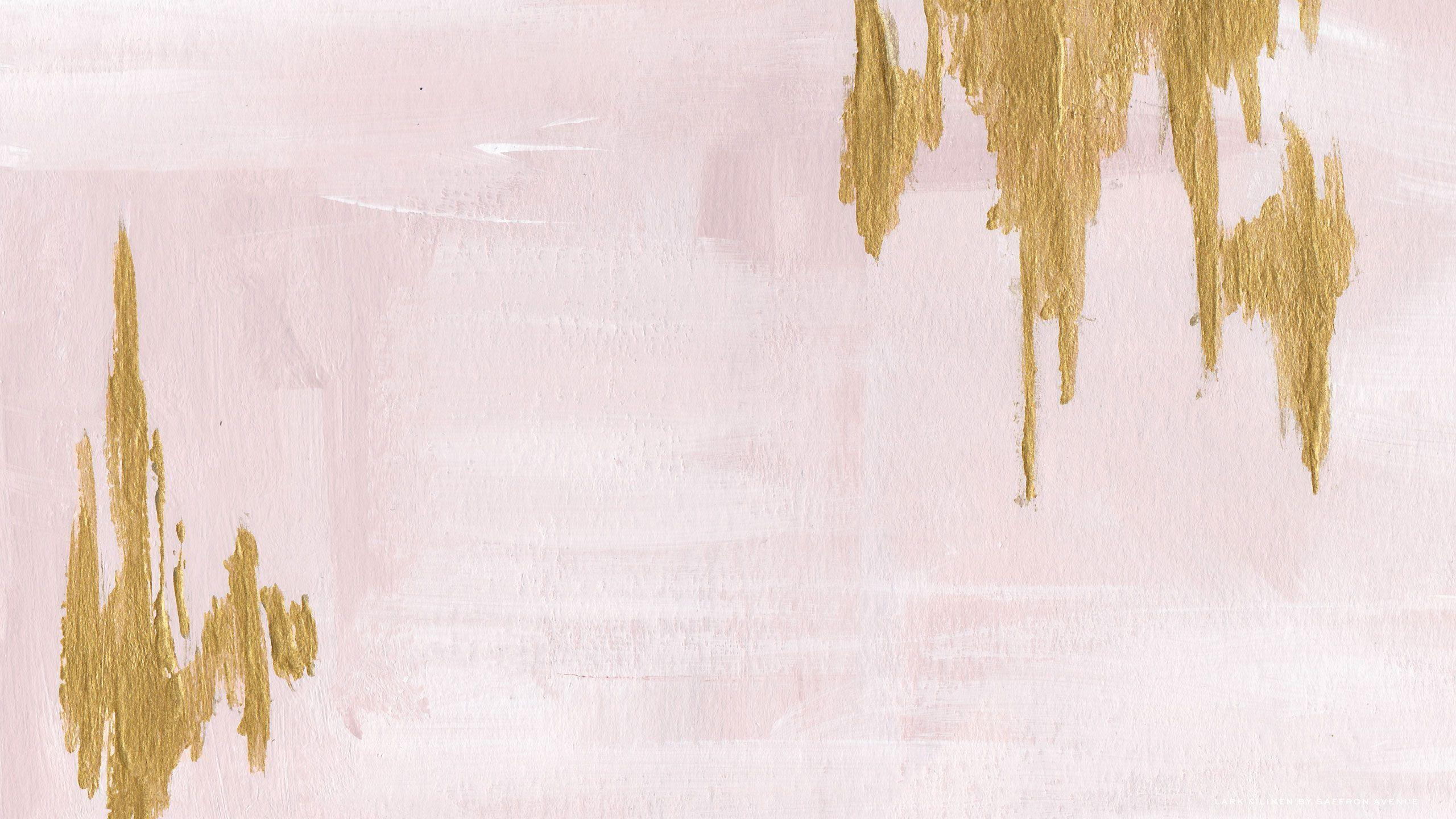 Pink And Gold Wallpapers - Wallpaper Cave