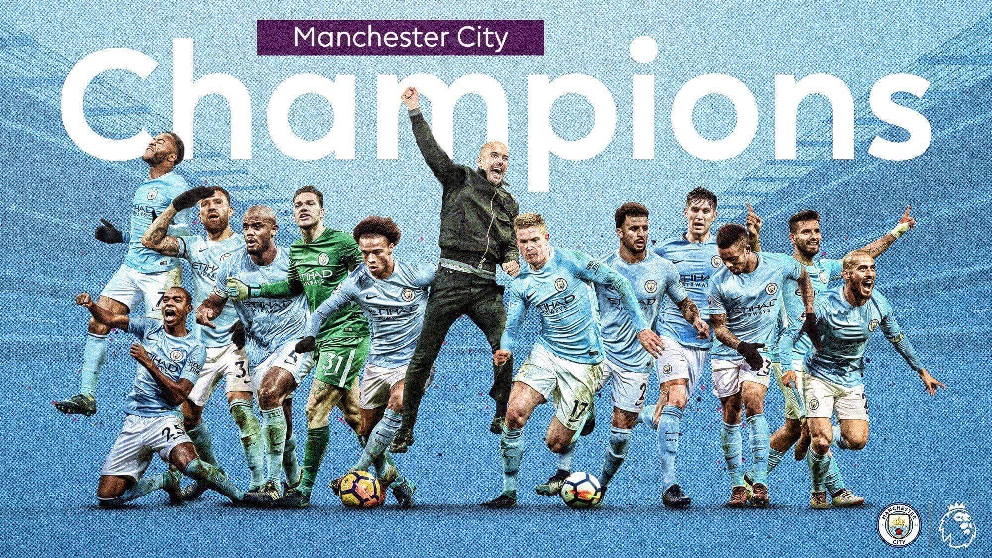 Man City Wallpapers 2015: Manchester City 2018 Wallpapers