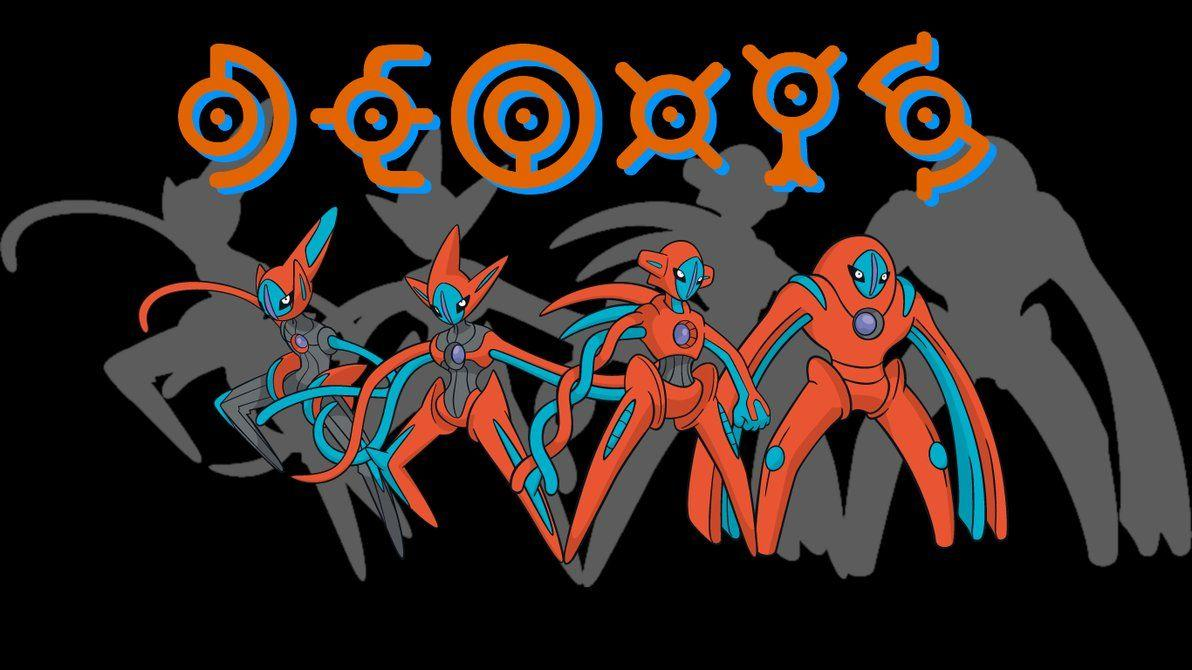 Deoxys Backgrounds by JCast639