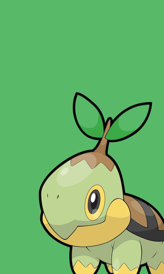 PKMN Phone Wallpaper - Turtwig by Neolink07 on DeviantArt