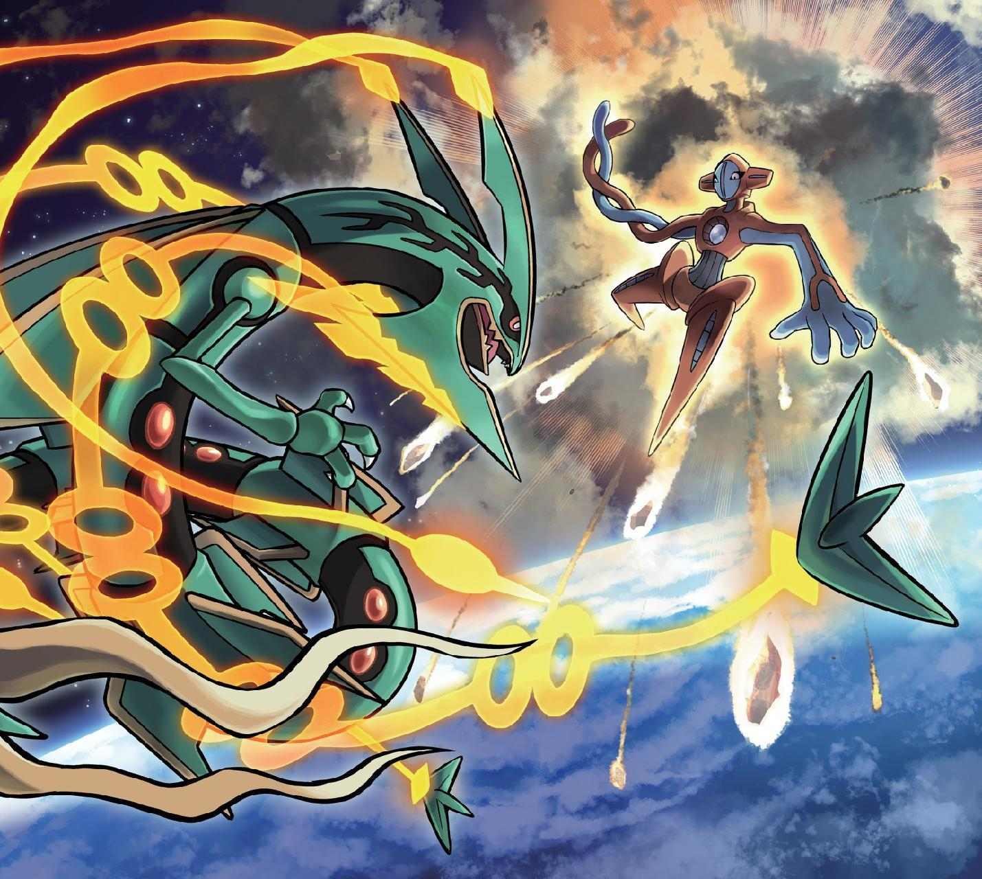 Rayquaza vs Deoxys wallpapers by JohnnyAmezcua • ZEDGE™
