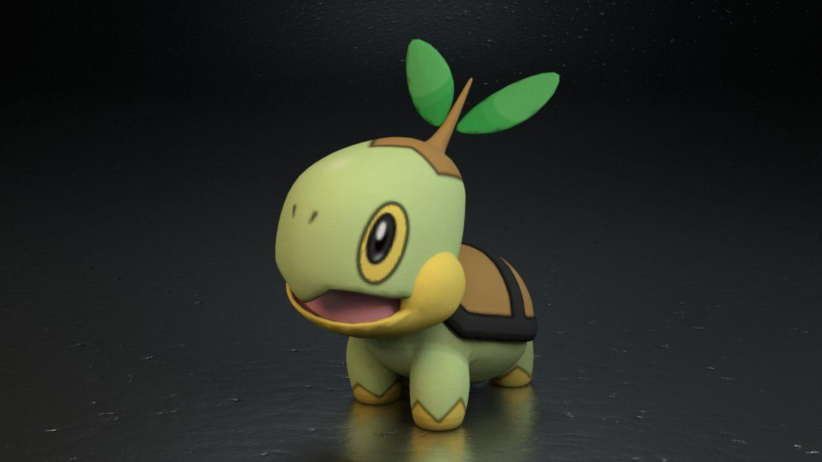 387. Turtwig by TheAdorableOshawott on DeviantArt