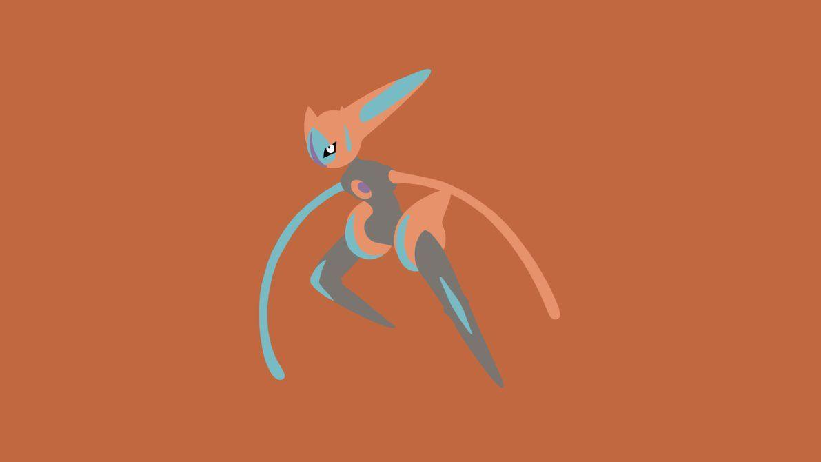 Minimalistic Wallpaper: Deoxys [Speed]