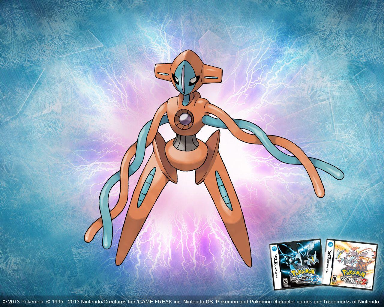 Deoxys Pokémon Black Version 2 and Pokémon White Version 2