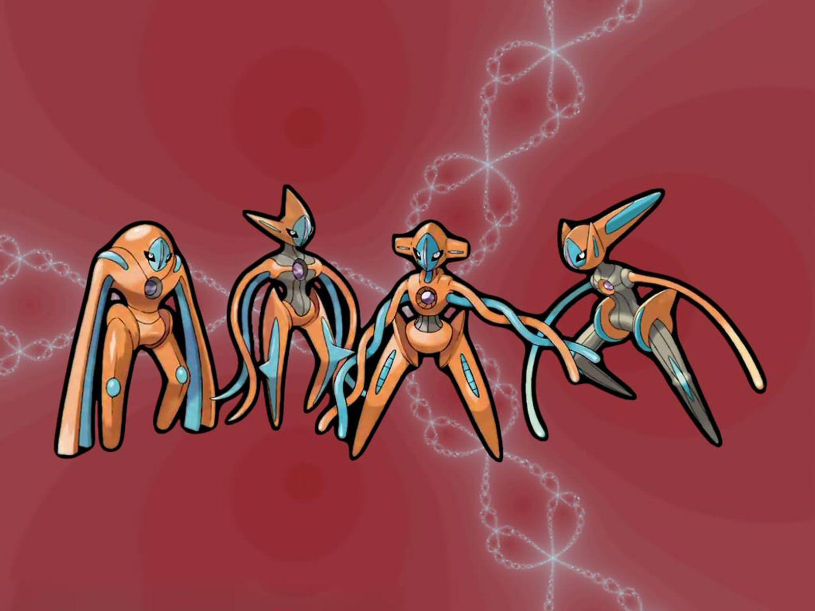 Cute Baby HD Wallpaper: Deoxys Pokemon Wallpapers