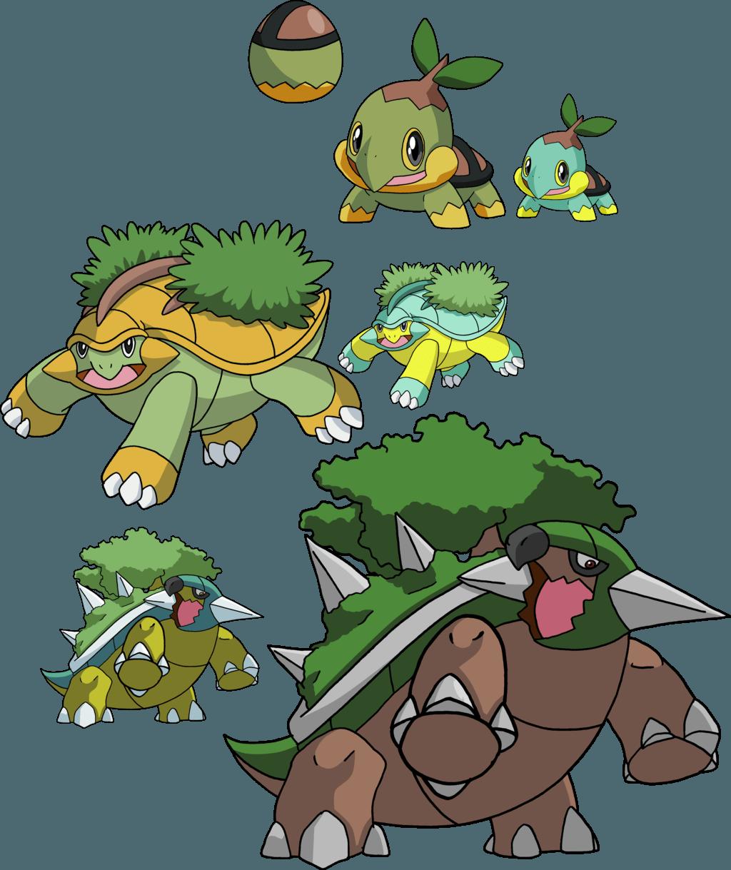 Pokemon Torterra Evolution 15089 Loadtve