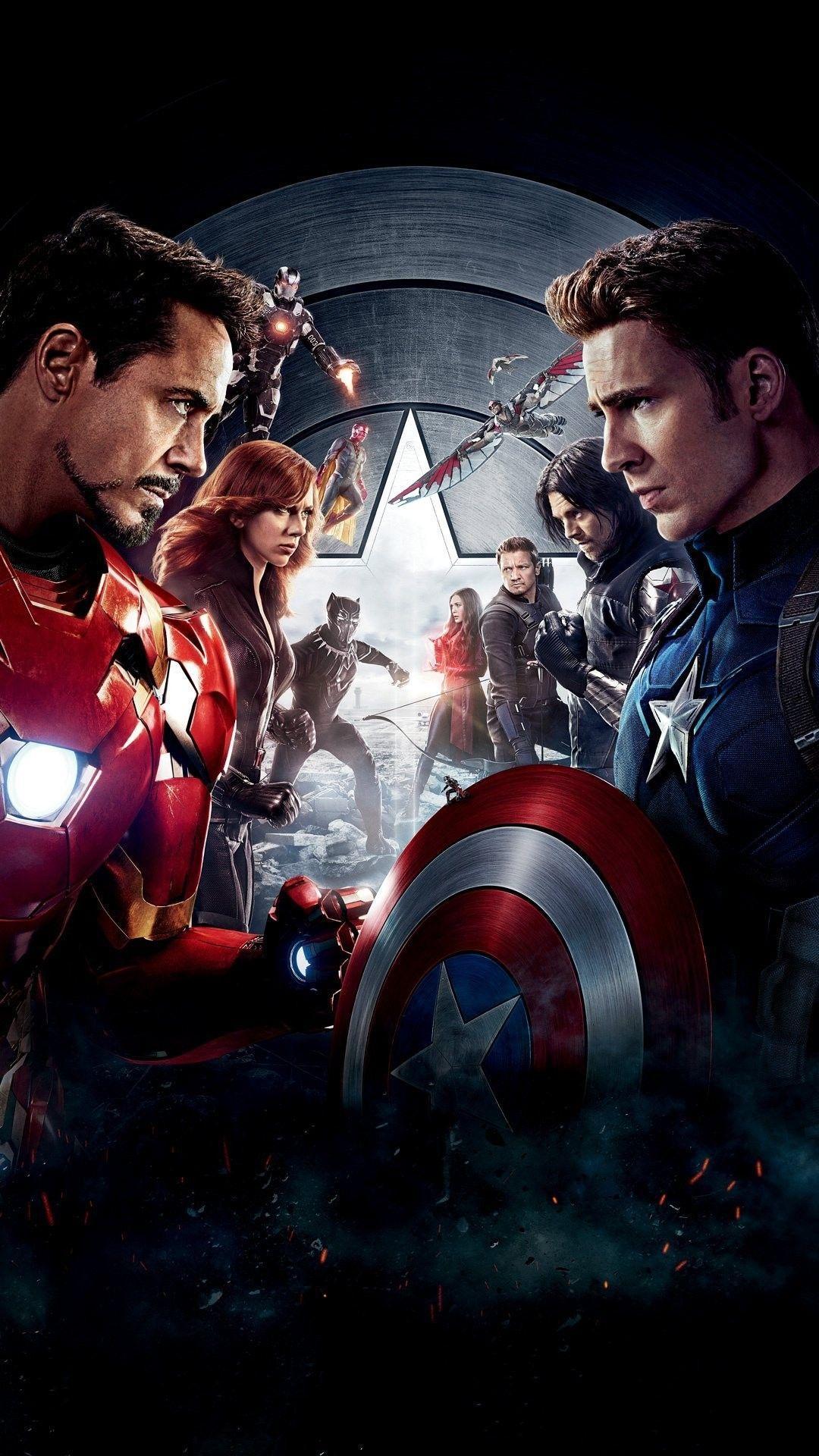 Iron Man Vs Captain America Wallpapers Wallpaper Cave