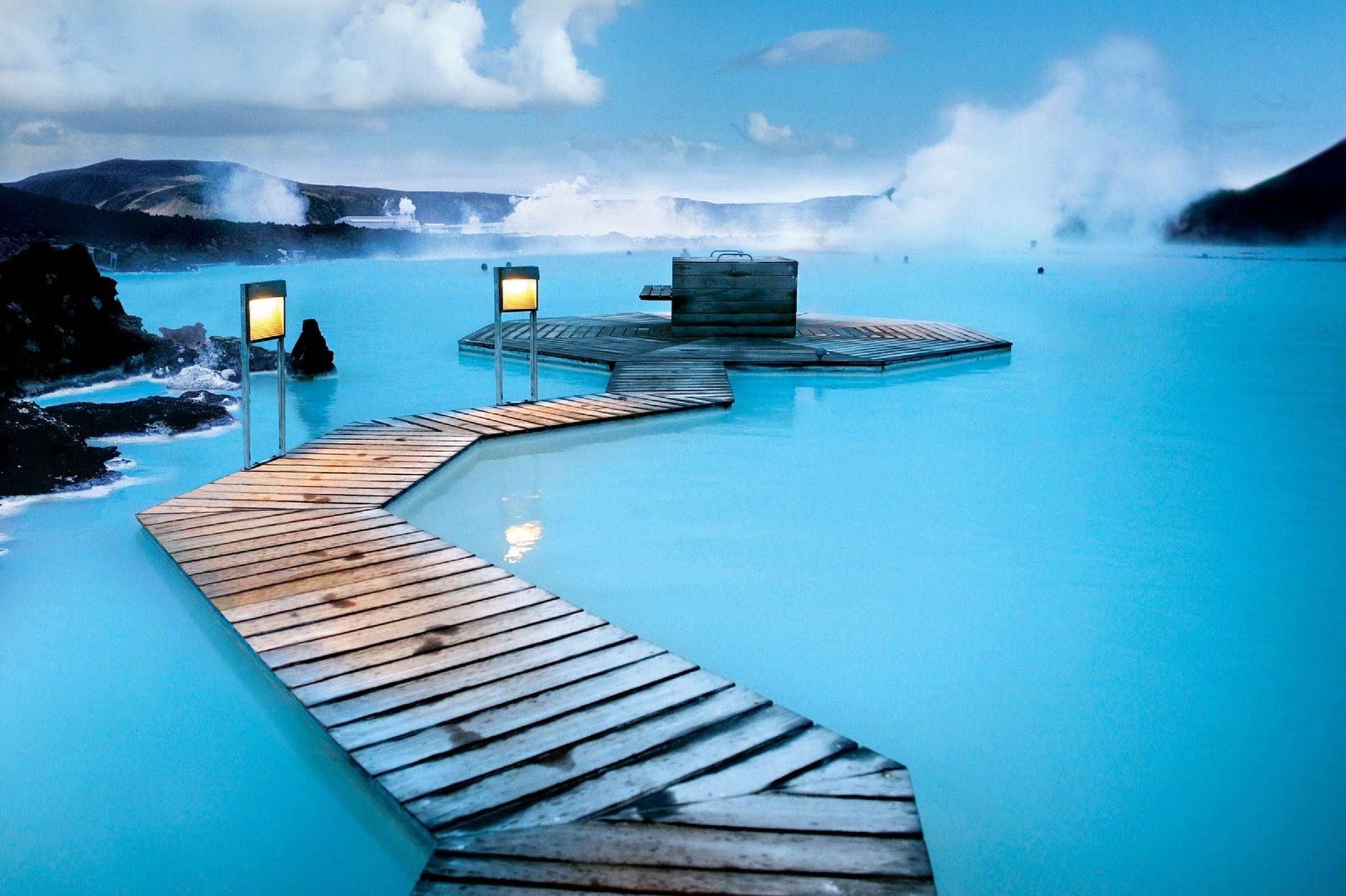 Iceland Blue Lagoon HD Wallpaper, Backgrounds Image