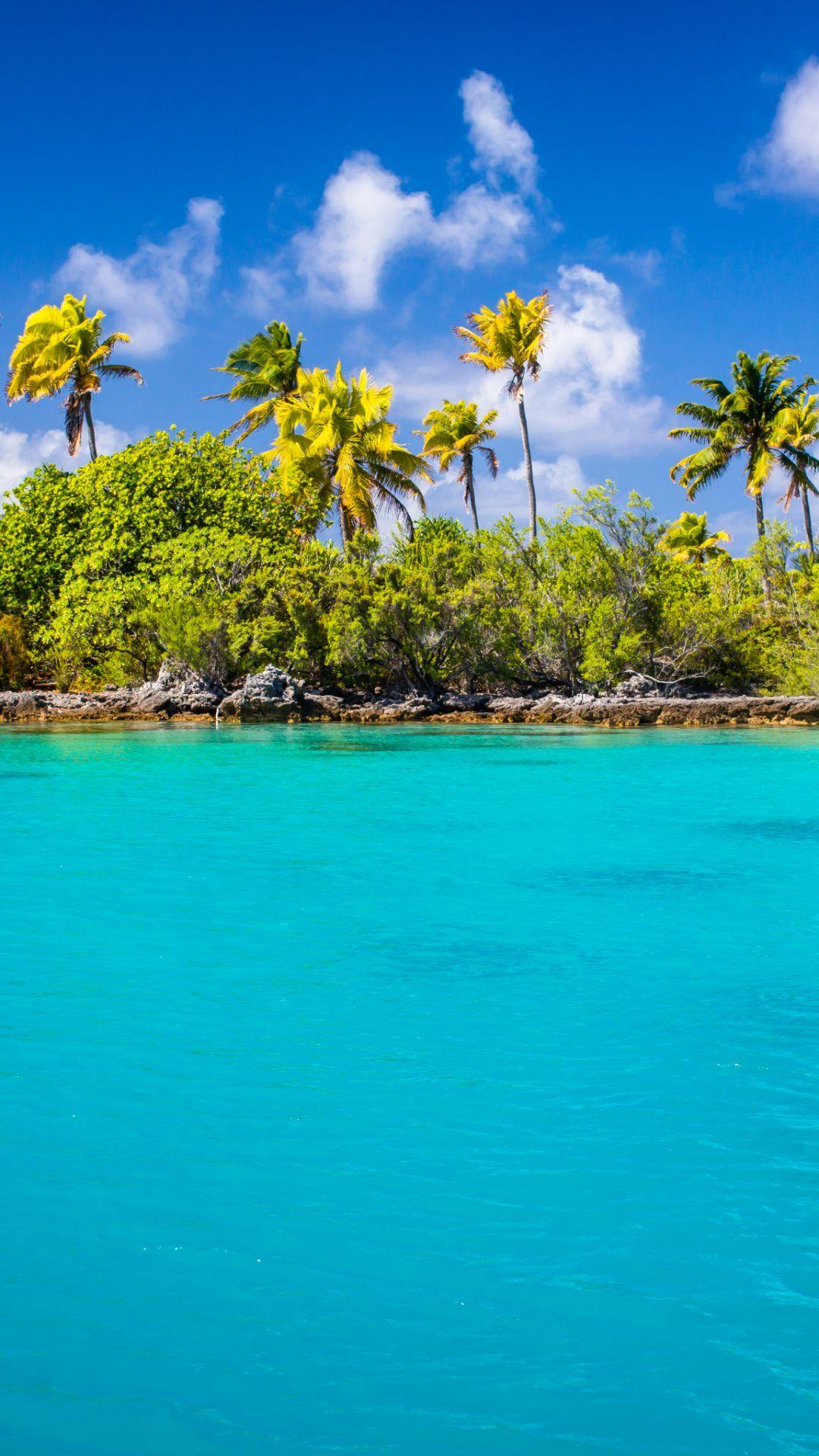 Exotic Blue Lagoon HD Wallpapers