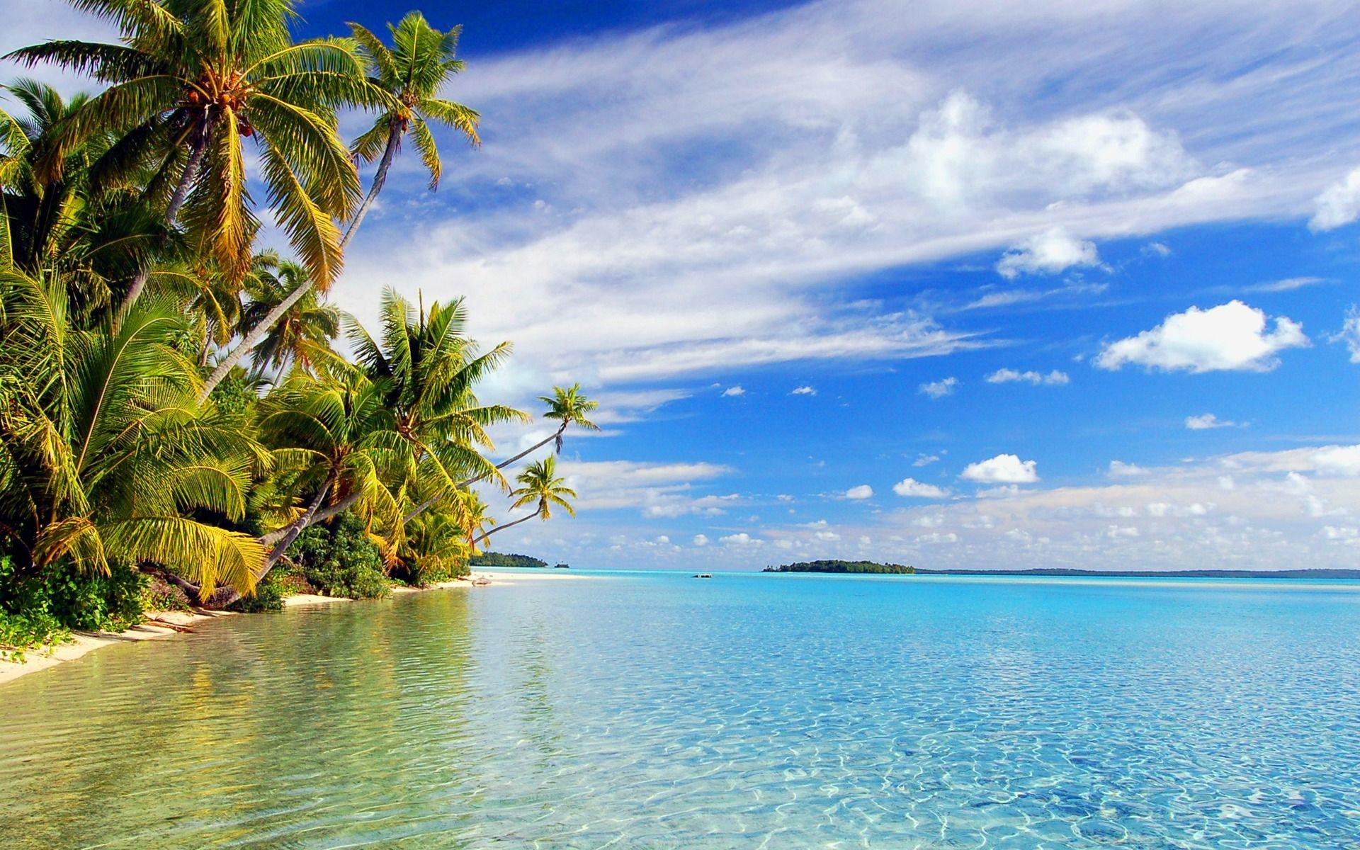 Aitutaki Lagoon Wallpapers Beaches Nature Wallpapers in jpg format