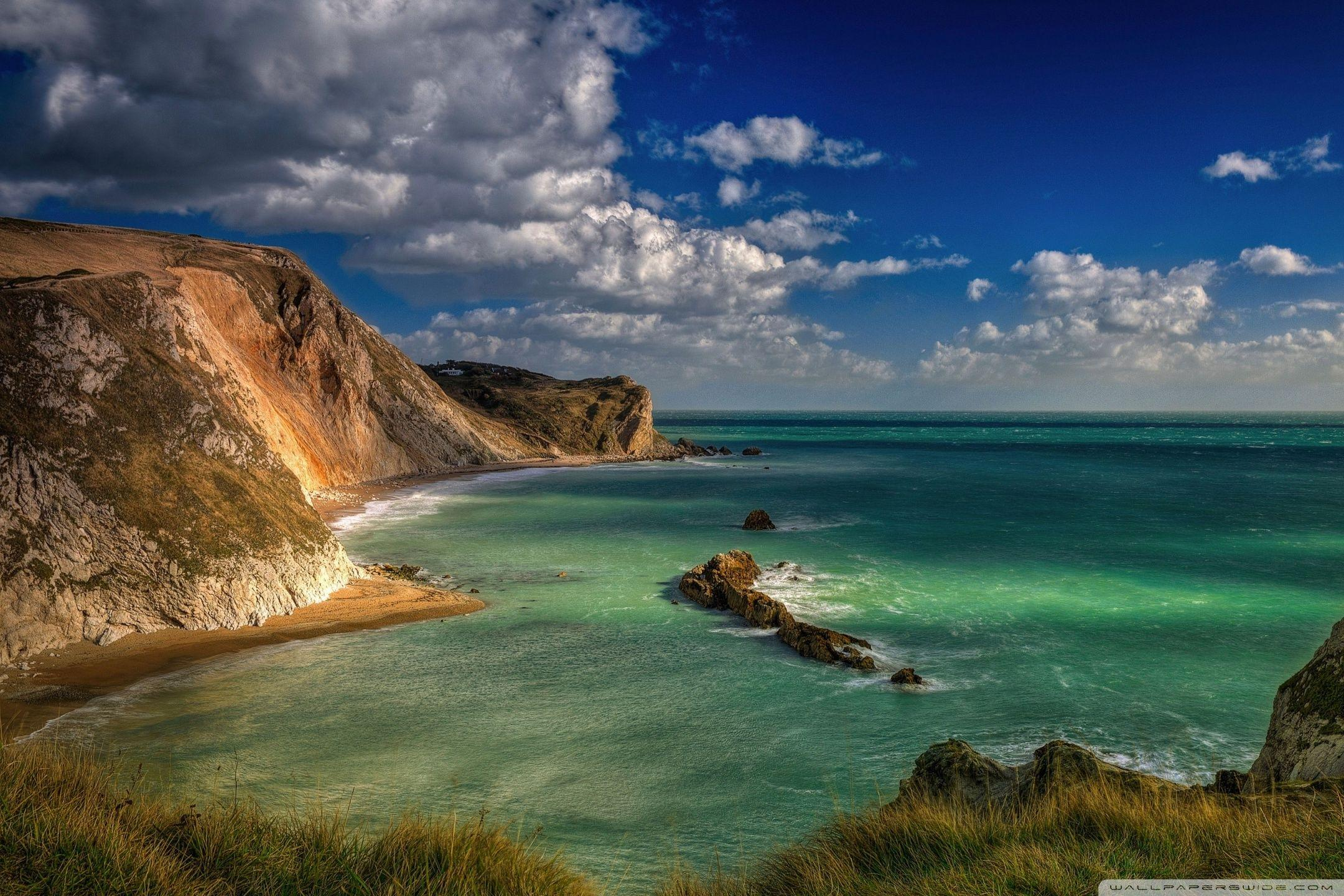 Blue Lagoon Durdle Door Dorset England ❤ 4K HD Desktop Wallpapers