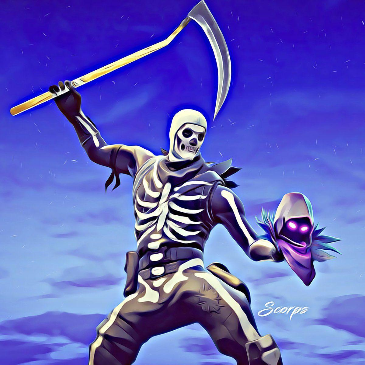 Skull Trooper Wallpapers Wallpaper Cave