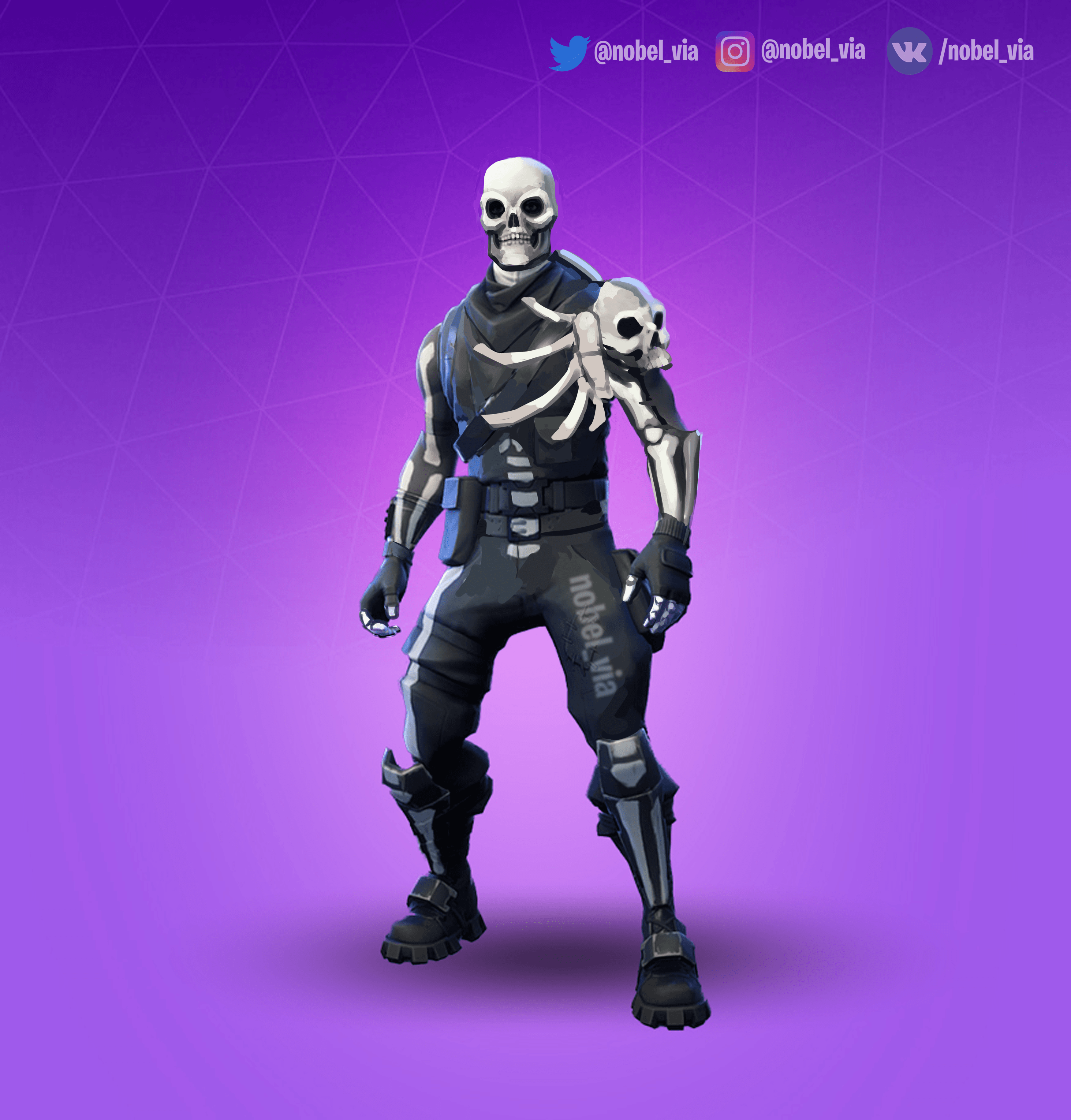 I Know That Skull Trooper Suppose To Be Just Halloween Costume But