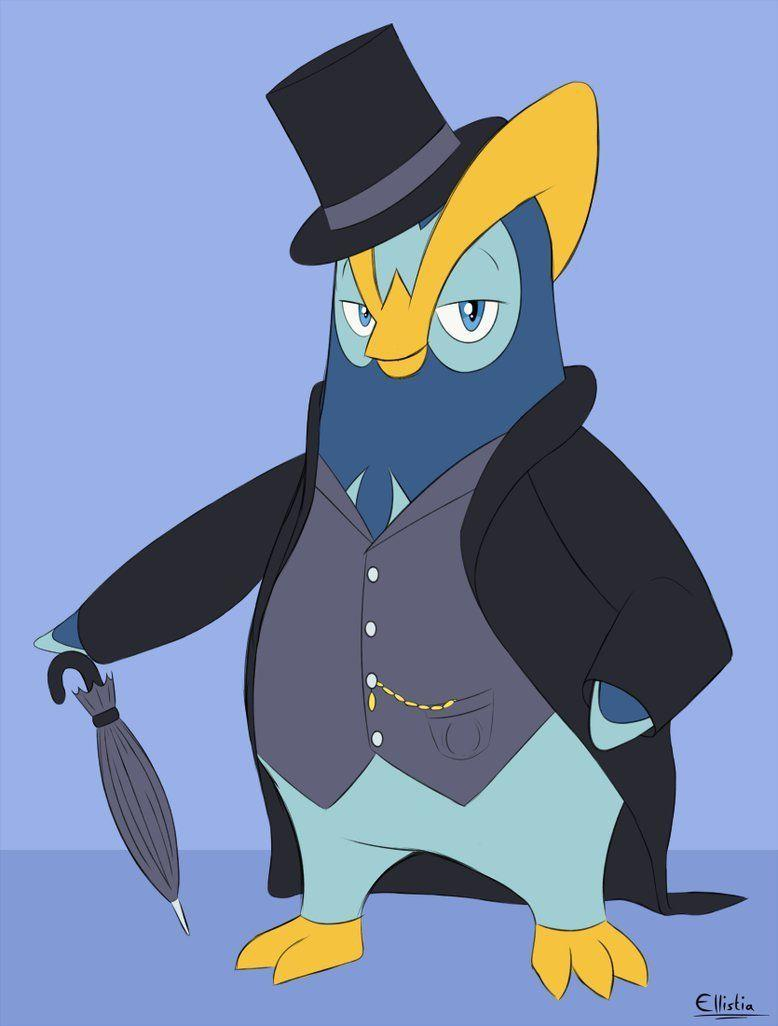 Dapper Prinplup by ecmc1093.deviantart on @DeviantArt