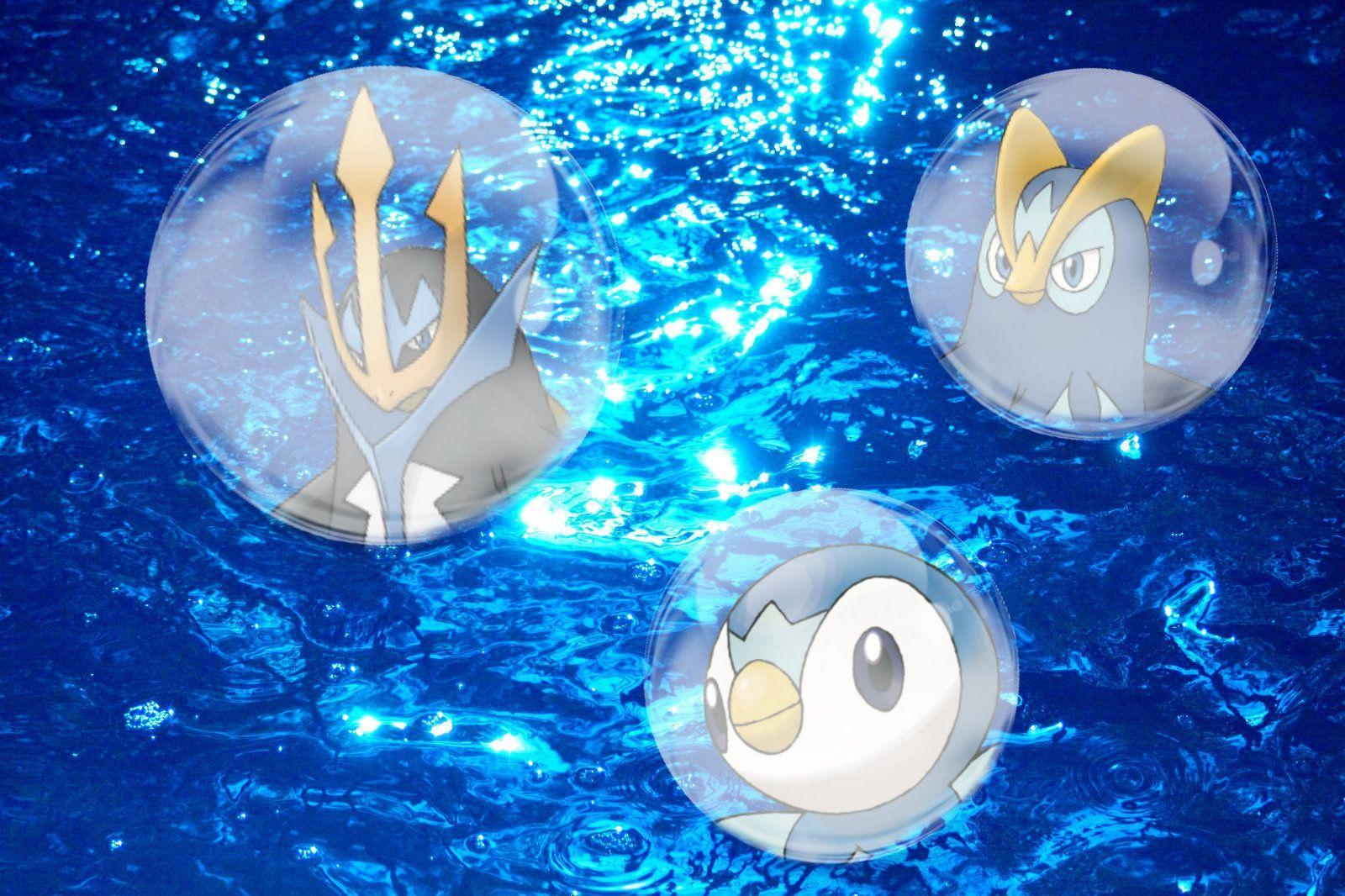 Piplup Evolution Wallpapers by NaziZombiesKiller.deviantart on