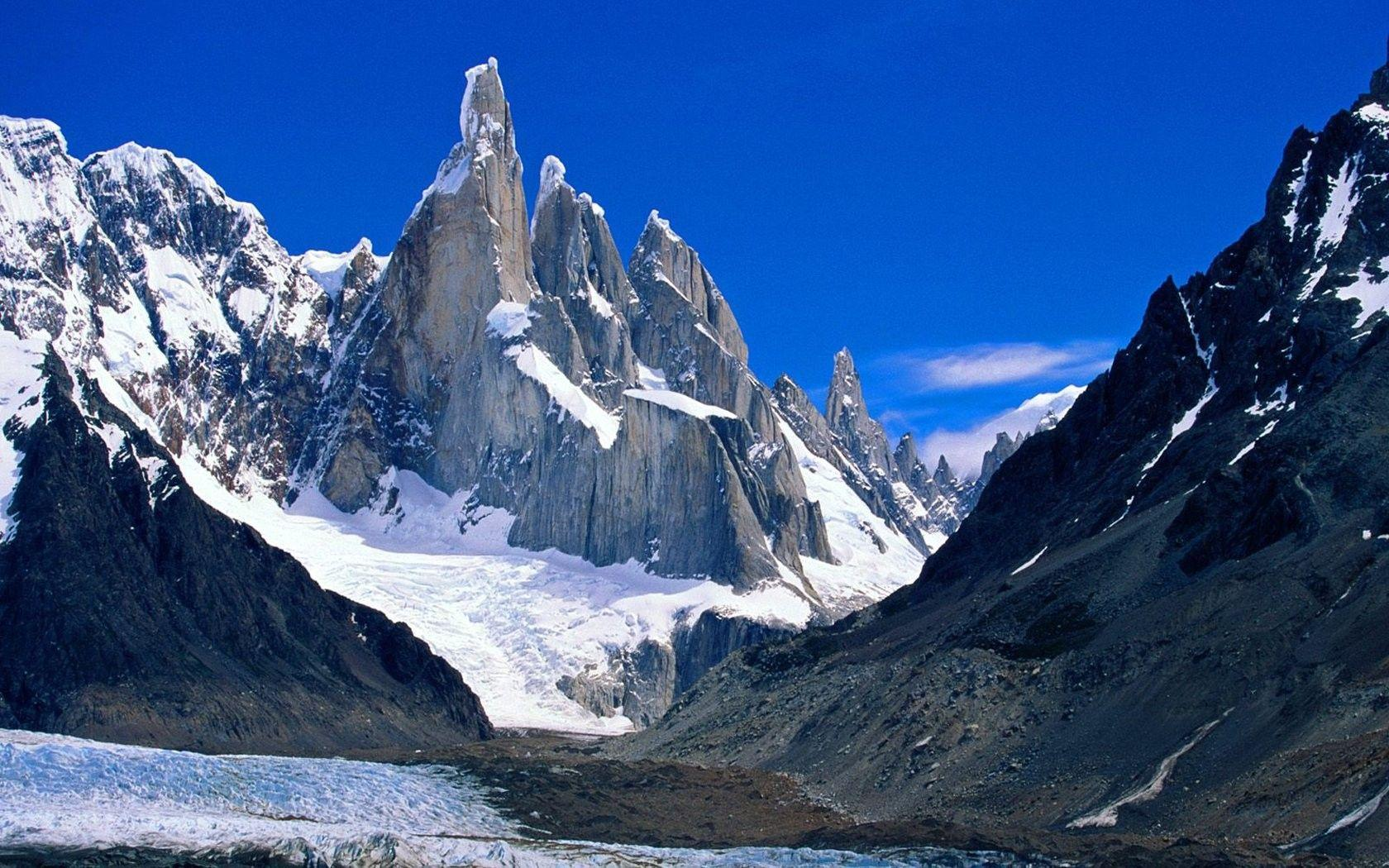 Fitz Tag wallpapers: Fitzroy National Park Argentina Fitz Roy Snow