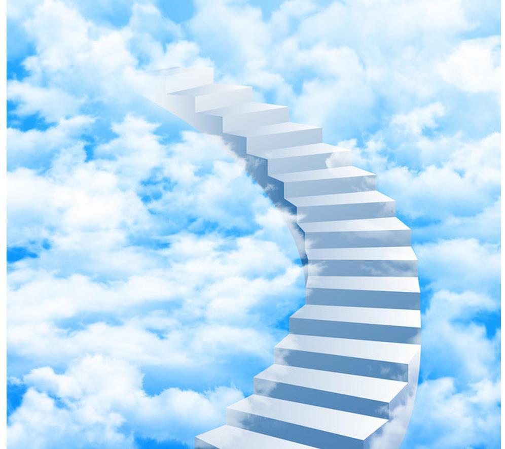Джек, лестница в небо открытки