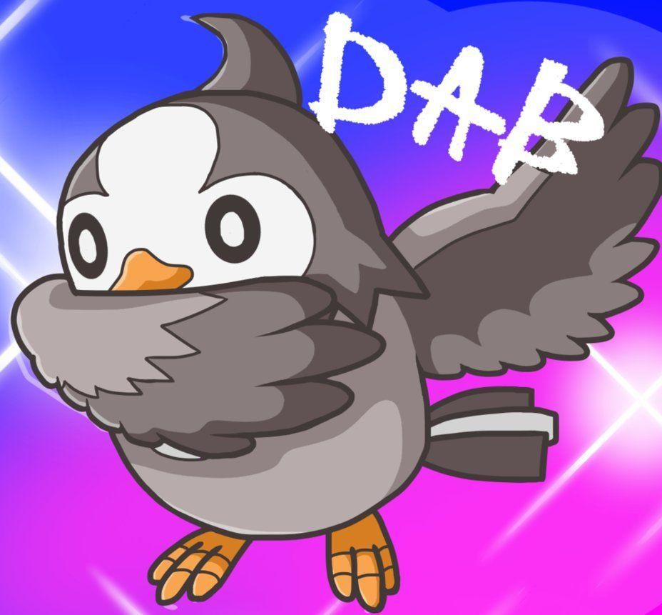 Starly Dab by Louise955x on DeviantArt
