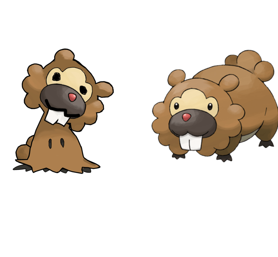 Mimikyu Bidoof by PuddleToast on DeviantArt