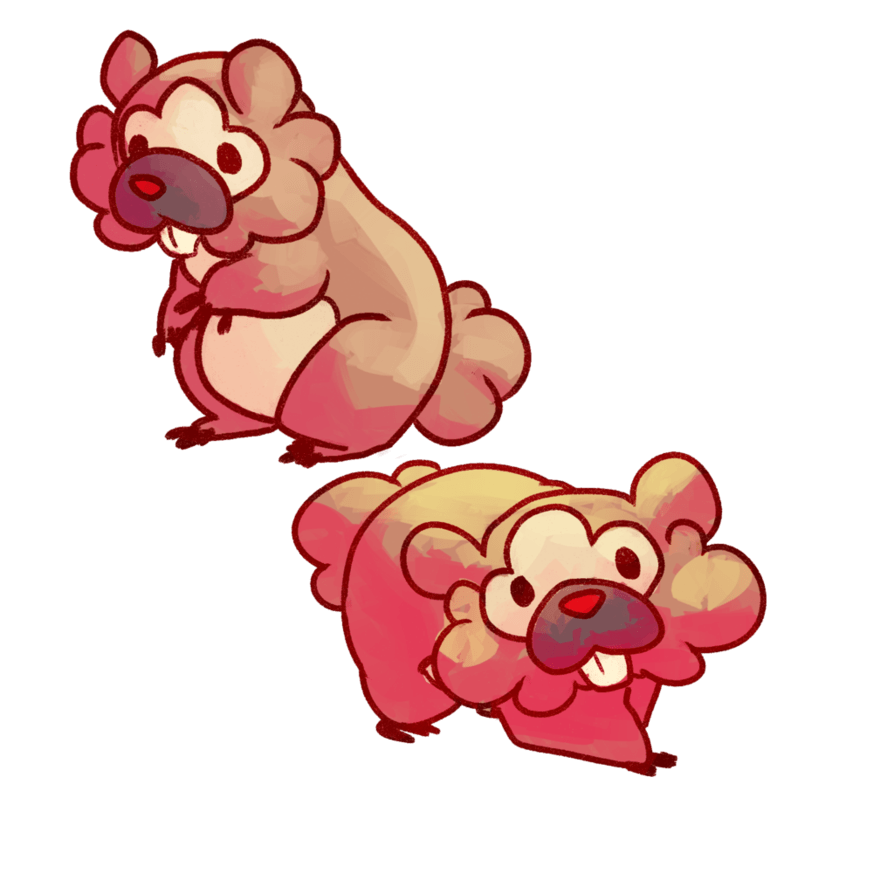 Day 2 | Bidoof by meow286 on DeviantArt